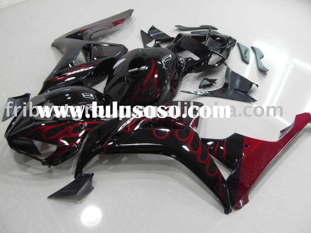 Motorcycle fairing kit for CBR1000 CBR1000RR 06 07 2006-2007 RED FLAME