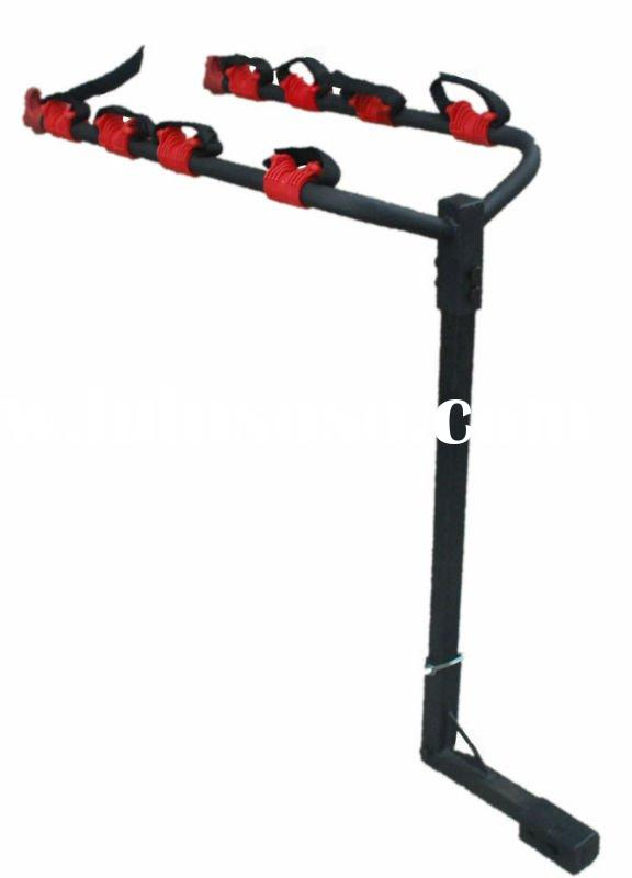 New 4 Bicycle Bike Rack Hitch Mount Carrier