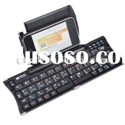 New Roll Up Keyboard with bluetooth for iPhone4/BlackBerry(roll up rubber keyboard/roll up computer