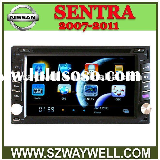 Nissan SENTRA 2007-2011 car audio player with usb sd card recoder