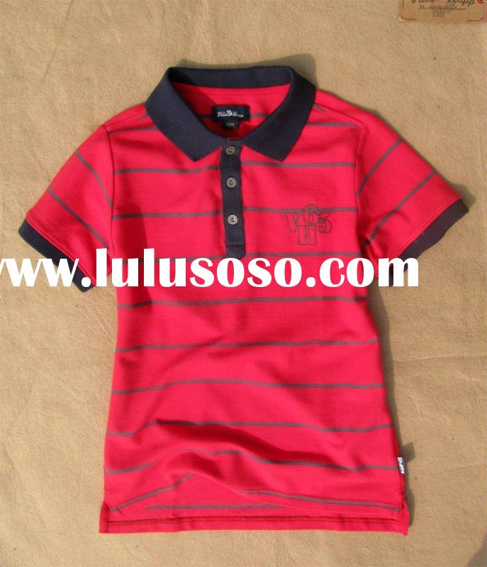 Polyester /Cotton Polo T -shirt for kids