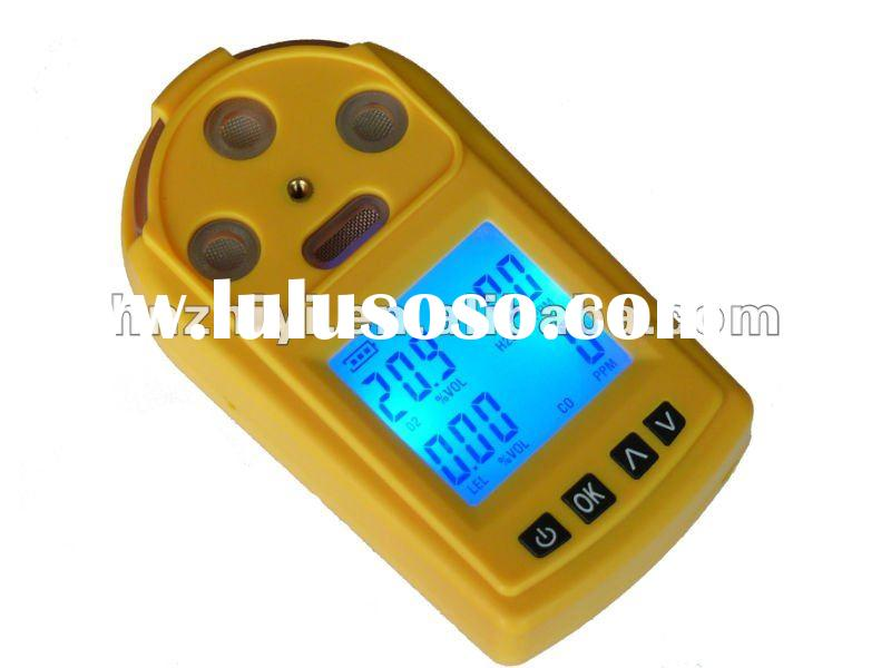 Portable PGas-41 multiple gas detector & 4 in 1 (ch4,co,o2,h2s) gas detector