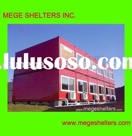 Prefabricated Hotel -- FRP container house