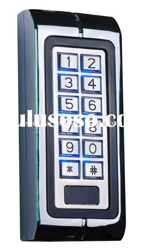 RFID Single Access Control Keypad Card Reader With Metal Shell