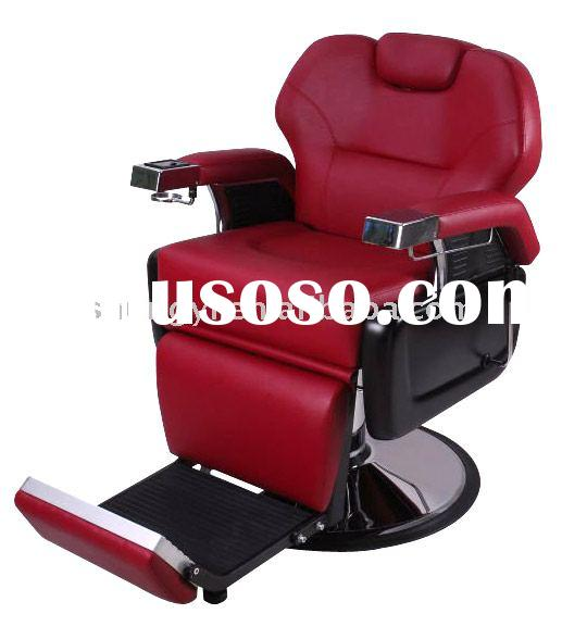 Red Salon Barber Chair