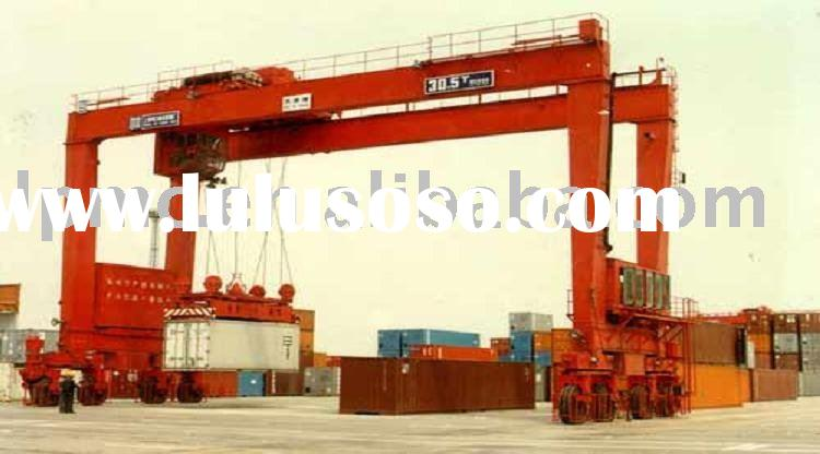 Rubber Tyred Gantry Cranes Translate : Rubber gantry crane manufacturers in