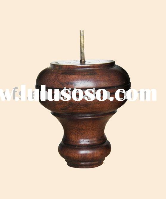 Solid wood cheap useful antique furniture legs