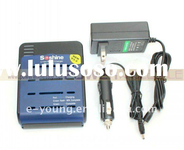Soshine S1-mix New 3.7V Li-ion battery Charger For 14500/18650/17500 Rechargeable Battery