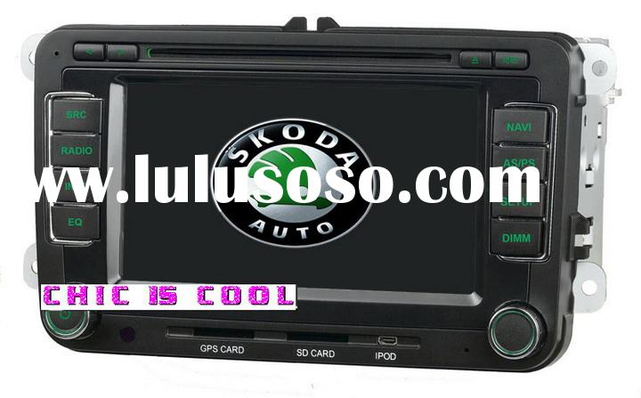 Special car dvd player for Skoda Octavia, Super built-in GPS with Bluetooth with Ipod with RDS with