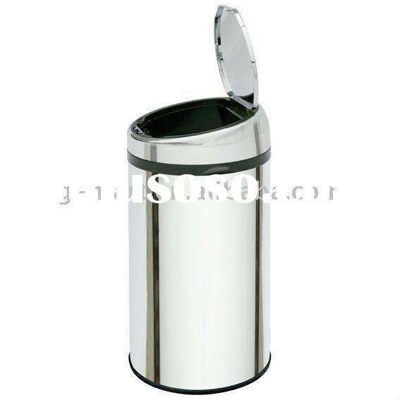 Stainless Steel Sensor Garbage Bin,Automatic Trash Can