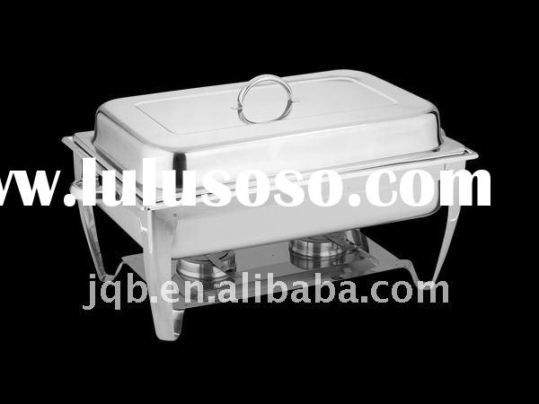 Stainless Steel buffet chafing dish with elegant design and low price