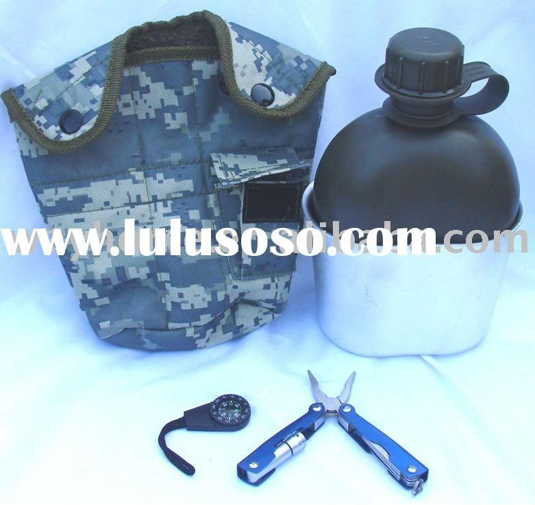 Survival canteen,emergency kit,first aid kit,disaster tool set,survival bottle,medical rescue gears,