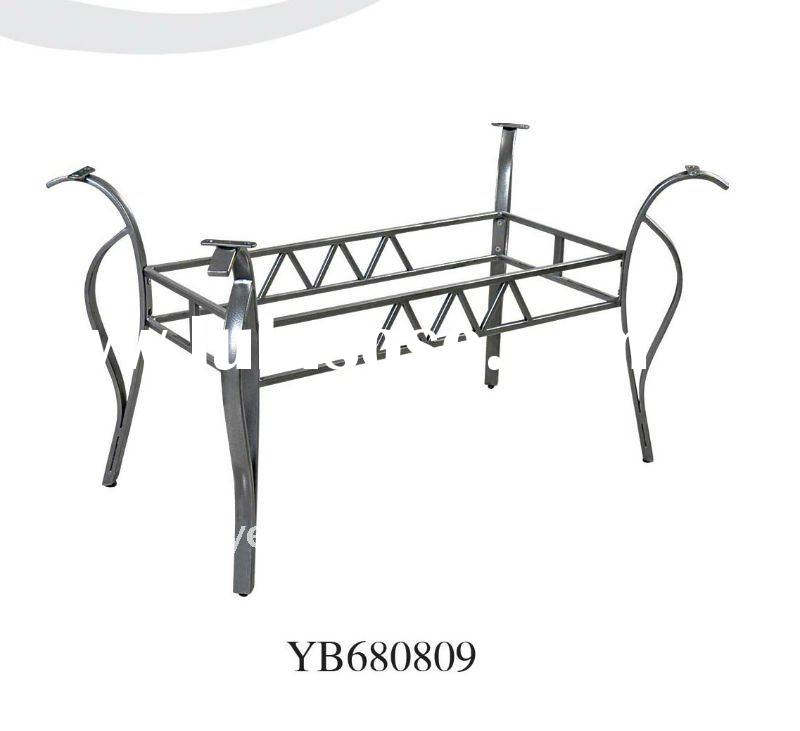 Table Accessory Wrought Iron Dining Table Leg Base