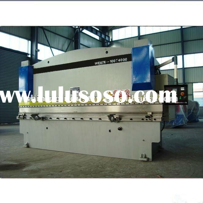 USED METAL HYDRAULIC GUILLOTINE PRESS BRAKE MACHINE/PLATE BENDING MACHINE
