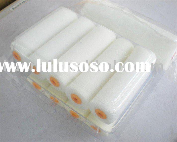 White Color foam paint roller easy paint roller