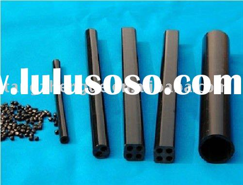 black RIGID PVC tube/ PLASTIC PIPE (hot)