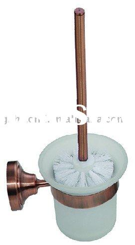 brass toiler brush holder/ Antique copper toilet brush holder