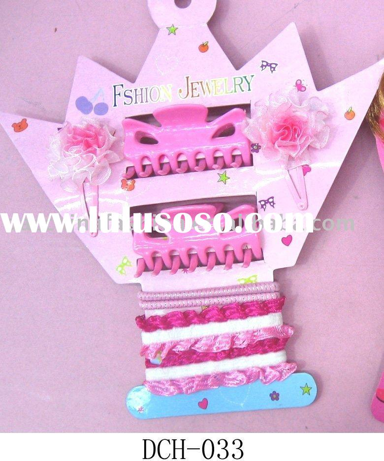 children's hair ornament set/children's hair accessories/hair accessories