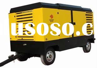 china diesel portable air compressor used in air drilling