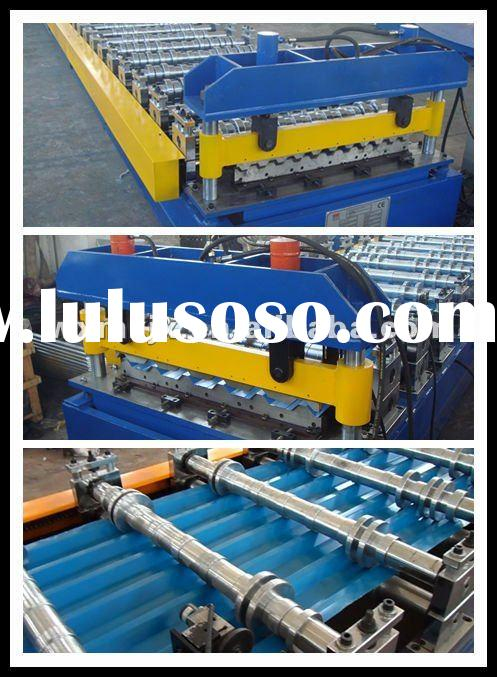 corrugated profile roofing sheet roll forming machine roofing sheet forming machinery