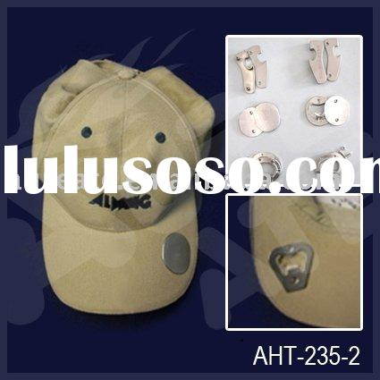 cotton promotional baseball cap with bottle OPENER