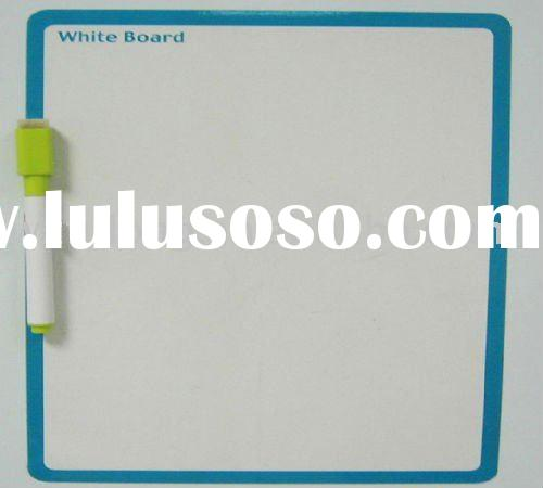 decorative magnetic whiteboard (with pen)