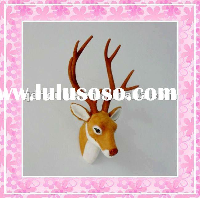 deer tails deer figurine deer head