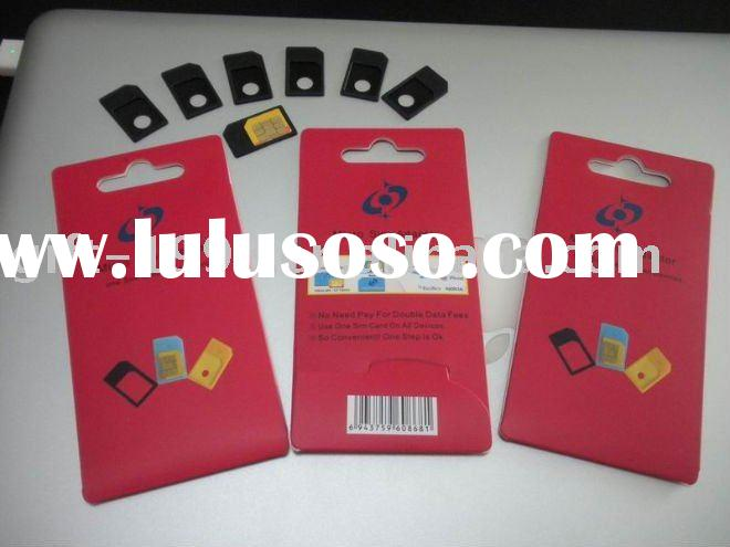 dual sim card adapter for IPAD 3G