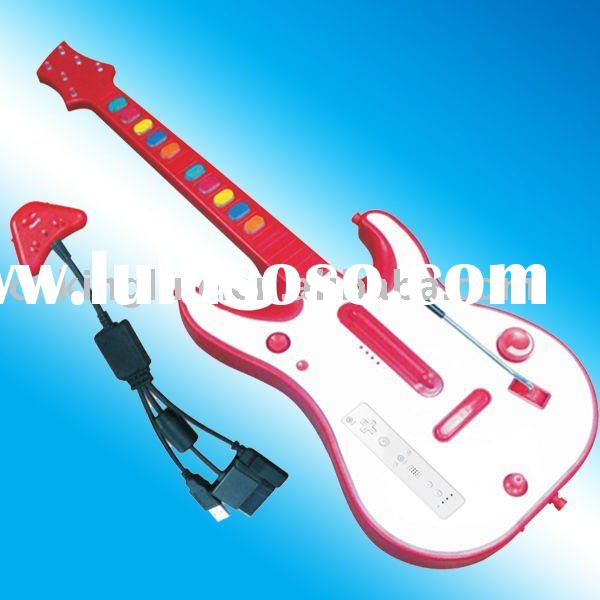 for PS2 /WII/PS3/XBOX 360 wirelesss video game electric guitar