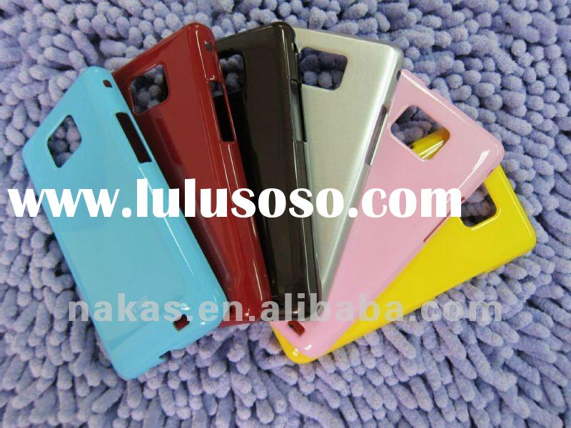for Samsung Galaxy S2 (i9100) jelly painted mobile phone housing