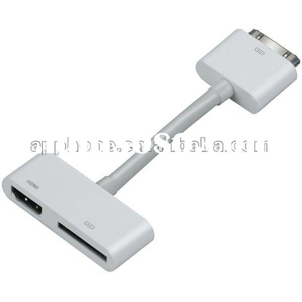 for ipad to hdmi converter+Female charger,Supporting Paypal