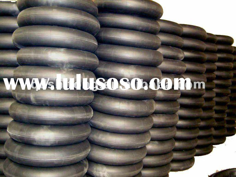 heavy truck tyre inner tube size 1000-20 natural rubber and butyl rubber