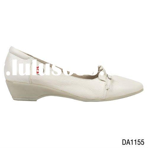 high quality nurse medical shoes genuine leather