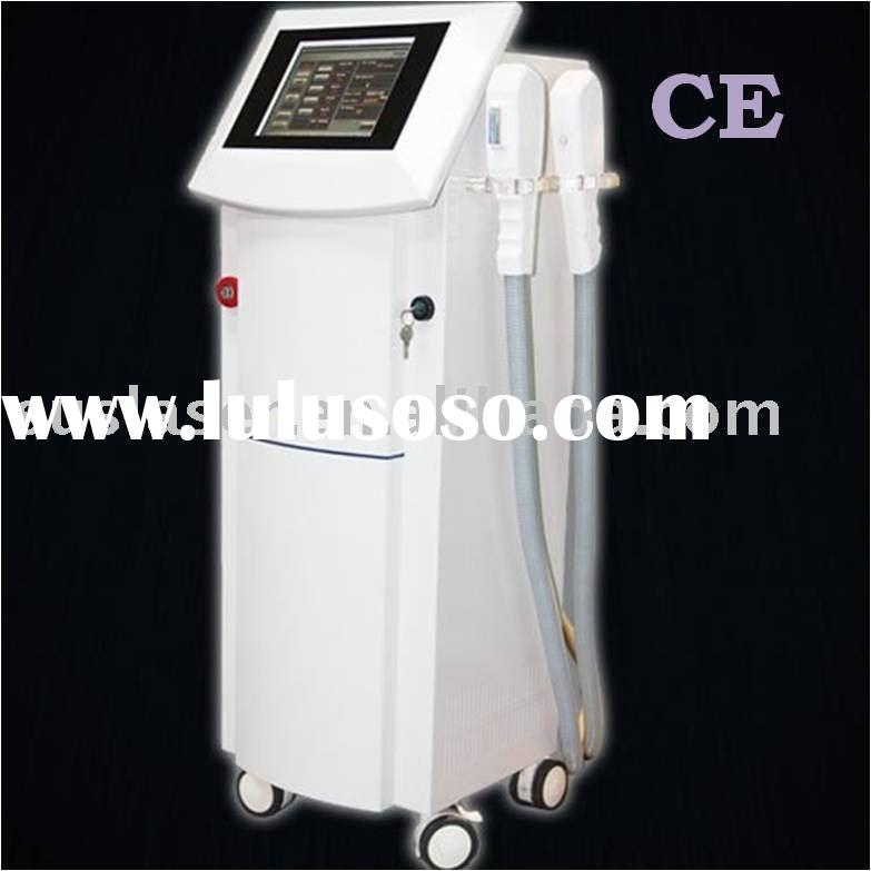 ipl rf machine for hair removal/acne reduce/wrinkle removal/Vascular treatment (CE&ISO)