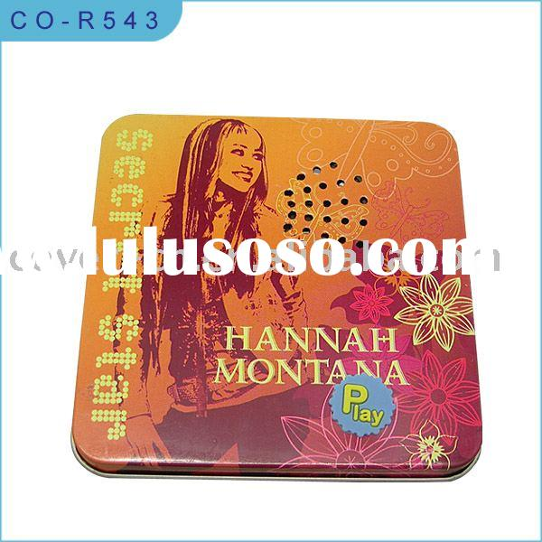 music gift card box/music business card box/gift card box with sound and light
