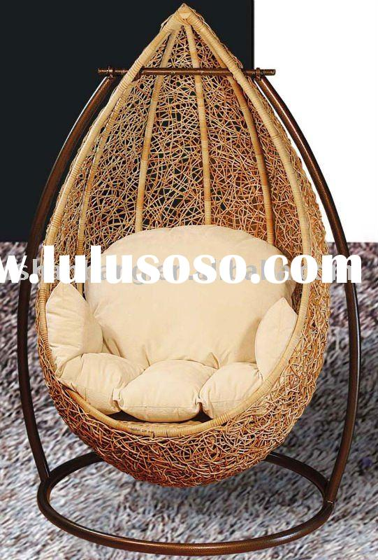 one-person rattan swings