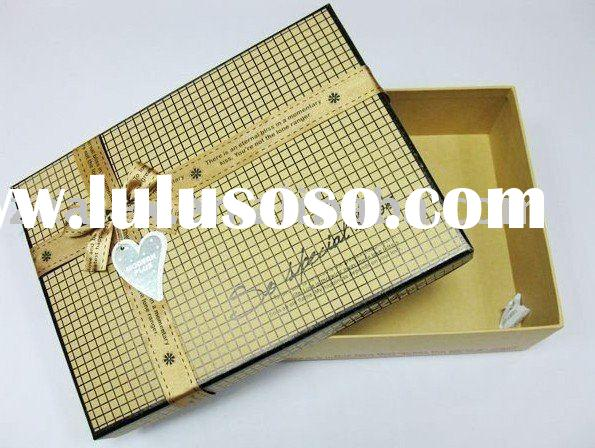 paper packaging box for shoes, clothes, cosmetic, hat, suit,socks packaging.