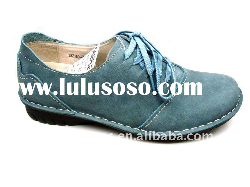 shoes summer 2011 lady's casual shoes leather women shoes