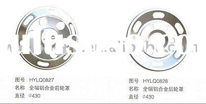 stainless stell wheel cover / hub cap for city bus and truck