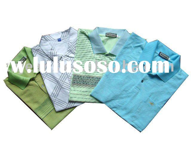 stock man's cheap polo shirt