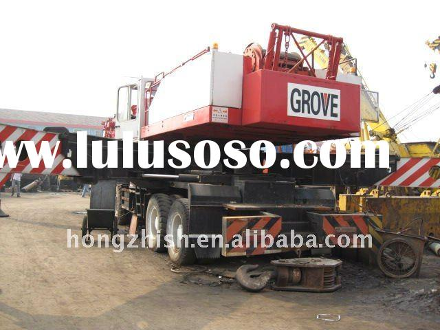 used crane of the original Grove 100tons for sale