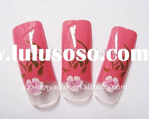 Pre Designed Nail Tips Manufacturers