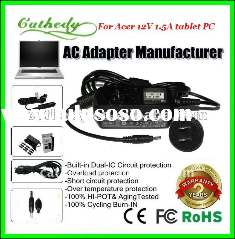 12v 1.5a AC Adapter For Acer ICONIA TAB A100-07u08w XE.H6RPN.006 Tablet PC Power Supply