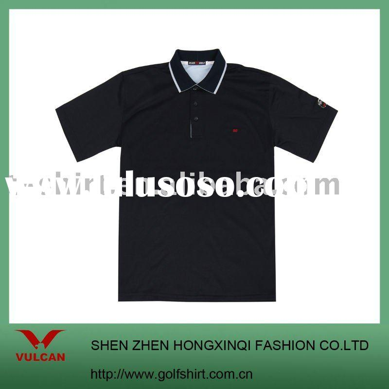 2011 top quality men's business polo shirt with lacoste cotton