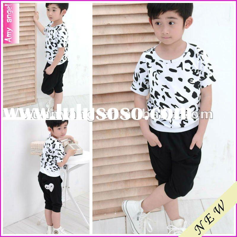 2012 new deisgn popular apparel factory wholesale clothing no minimum order kids fancy clothing