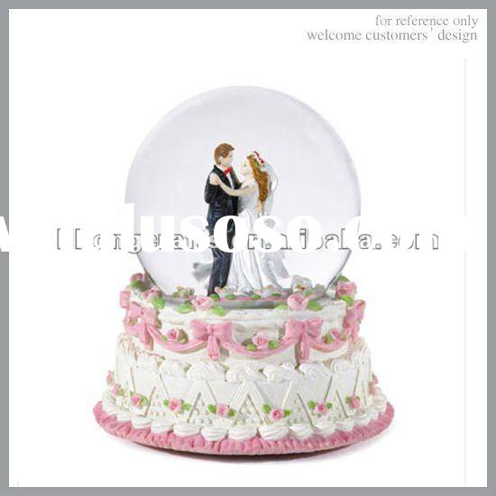 2012 new gift item wedding souvenirs snow globe