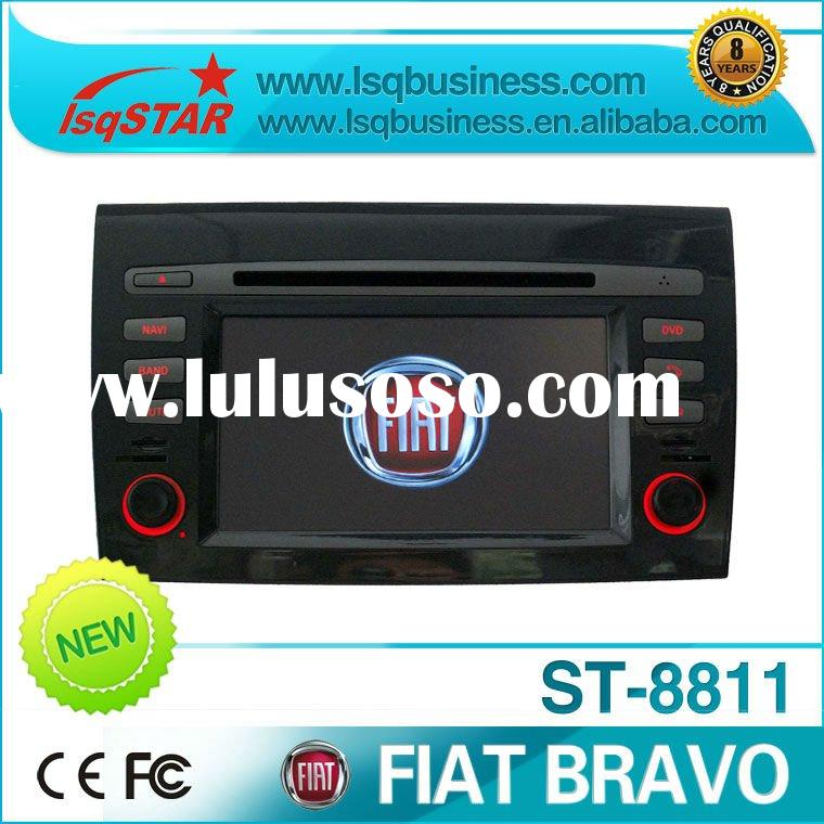2 Din 7 inch Fiat Bravo Car DVD Player with DVD/CD/Mp3/Mp4/Bluetooth/IPOD/Radio/TV/GPS! hot selling!