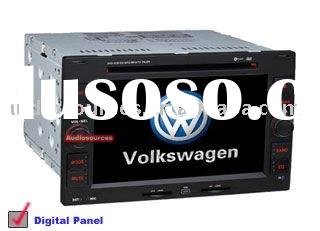 "6.2"" LCD touch screen Car dvd gps for VW serial"
