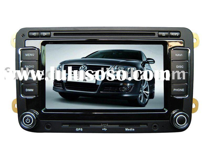 7.0 inch 2 din touch screen car dvd player for Volkswagen Magotan