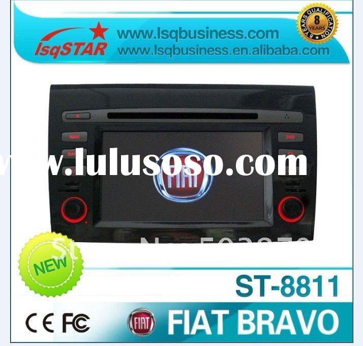 7inch Fiat Bravo car dvd player with GPS/Bluetooth/IPOD/RDS/TV/Radio/IPOD/Canbus! hot selling!